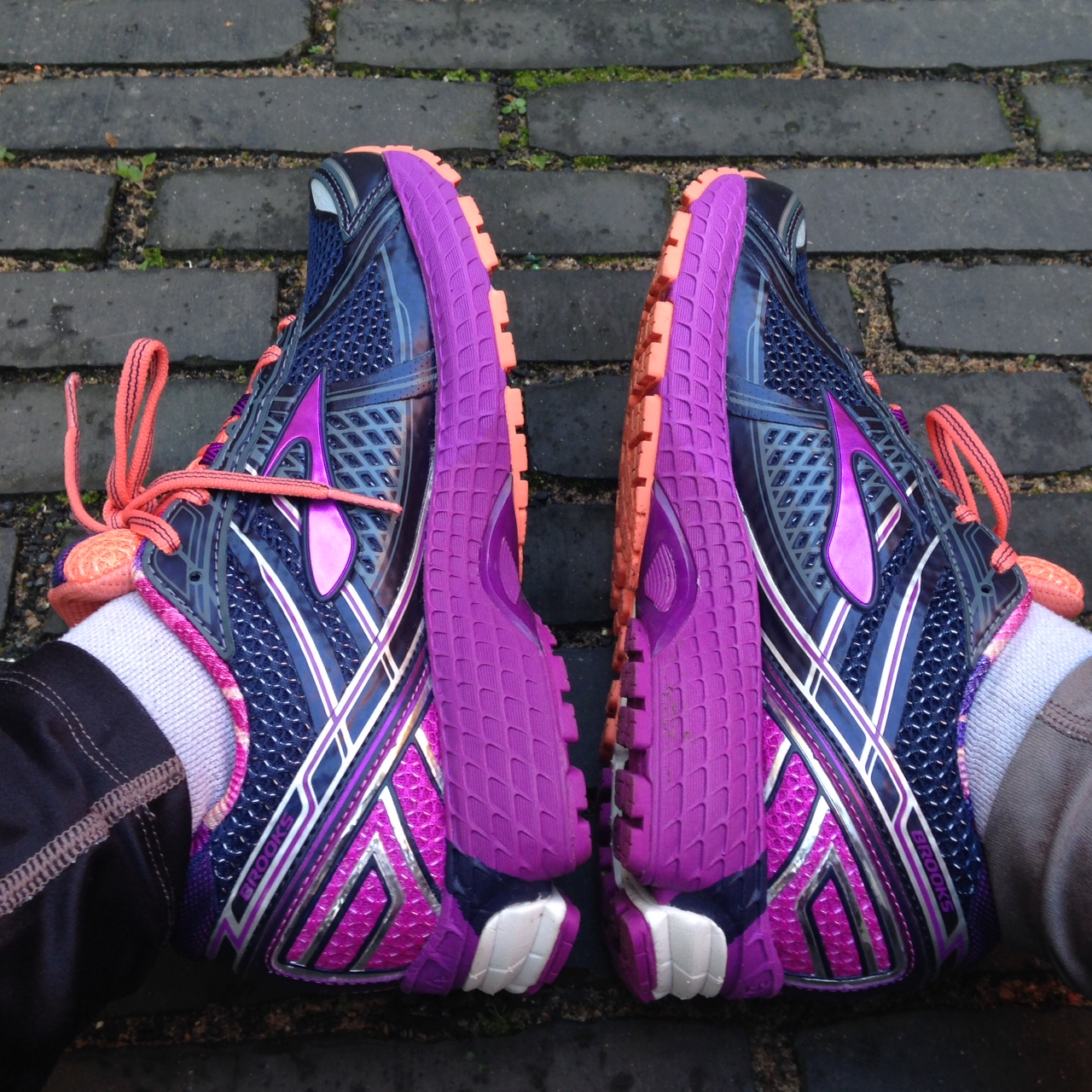 What I wear: shoes – Lazy Girl Running