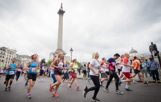 Runners and GVs during  the Vitality British 10K London Run 2015, part of the Vitality Run Series For further info please contact Geoff Binding 07540052202   Copyright image 2015©   For photographic enquiries please call Anthony Upton 07973 830 517 or email info@anthonyupton.com  This image is copyright  the photographer2015©. This image has been supplied by Anthony Upton and must be credited XXXXX/Anthony Upton. The author is asserting his full Moral rights in relation to the publication of this image. All rights reserved. Rights for onward transmission of any image or file is not granted or implied. Changing or deleting Copyright information is illegal as specified in the Copyright, Design and Patents Act 1988. If you are in any way unsure of your right to publish this image please contact Anthony Upton on +44(0)7973 830 517 or email: