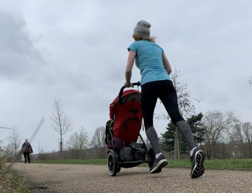 Running after having a baby: physio advice