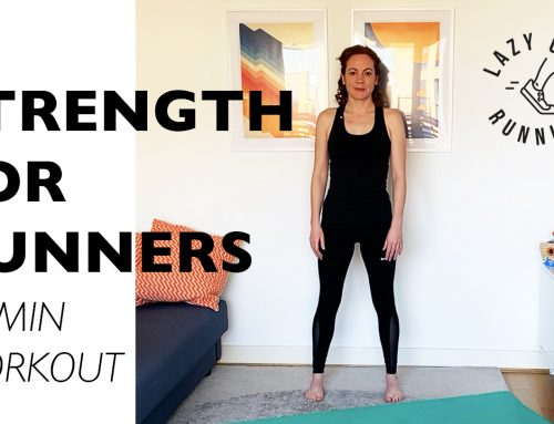 Strength exercises for runners: 30 min home workout