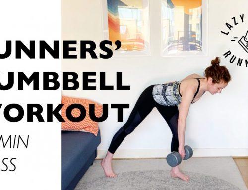 Beginners Dumbbell Workout for Running